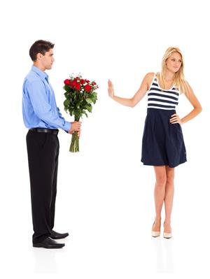 Tre Ragioni per cui una donna rifiuta un uomo